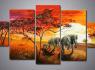 Nuostabūs tapyti paveikslai kelių dalių (4)