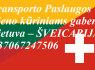 Eksponatų ir parodų įrangos pervežimas Lietuva Šveicarija (1)