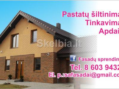 Fasadu šiltinimas dekoras. 860394321