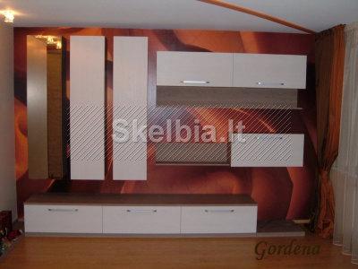 Kieti svetainės baldai. Dizainas, projektavimas ir gamyba