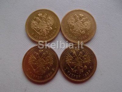 perku auksines monetas