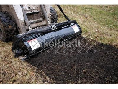 867649574, Bobcat kultivatoriaus nuoma Vilniuje