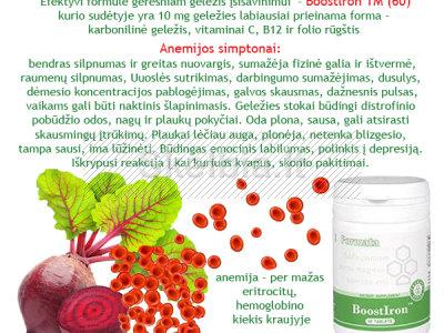 Geležies trūkumo anemijos mažakraujystės profilaktikai