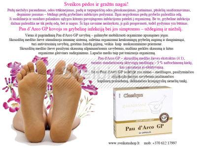 Sveikos pėdos ir gražūs nagai