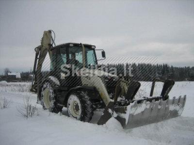 867649574. Sniego valymas. Vilnius. Bobcat nuoma