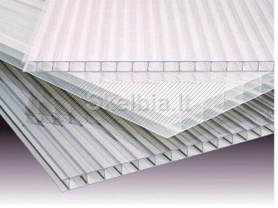 Skaidri stogų danga - kanalinis polikarbonatas