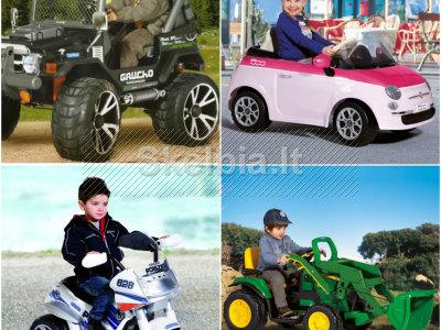Elektromobiliai Peg Perego