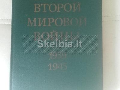 Karo enciklopedija Antrojo Pasaulinio karo istorija 1939 - 1945 m