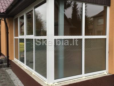 Plastikiniai langai, durys, balkonų stiklinimas, roletai, žaliuzės