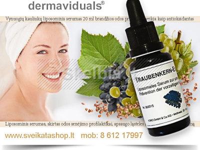 Vynuogių kauliukų liposominis serumas KOKO Dermaviduals NUOLAIDOS iki 15
