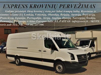 Krovinių gabenimas, pervežimas tarptautiniais maršrutais ir Lietuvoje 37062387452