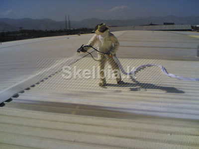 Šiltinimas poliuretano putomis