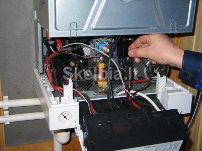 Visų šildymo katilų remontas, montavimas ir priežiūra