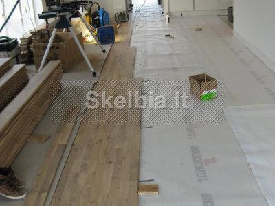 grindu montavimas klojimas dejimas