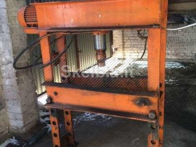 Perku rusiska hidraulini presa 40 tonu