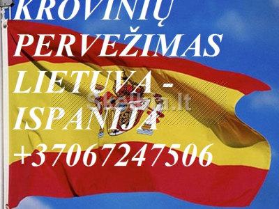 Gabename iš Ispanijos ir į Ispaniją