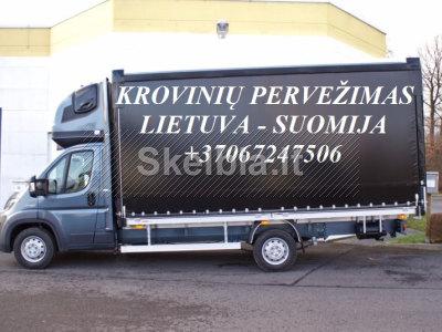 Tarptautiniai perkraustymai Lietuva - SUOMIJA - Lietuva