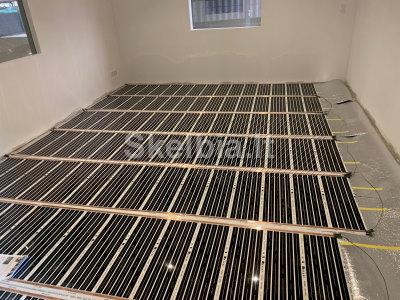 Grindinis šildymas, Infraraudonųjų spindulių - 6 EUR m