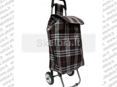 pirkinių krepšys su ratukai