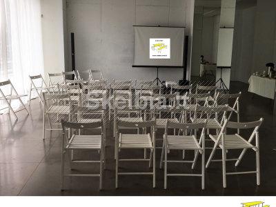 Stalų, suolų, kėdžių nuoma